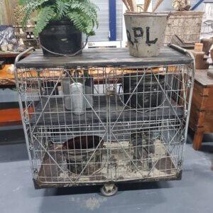 oude vintage trolley - pilota stoer